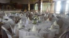 Silver sashes at the Redcliffe hotel