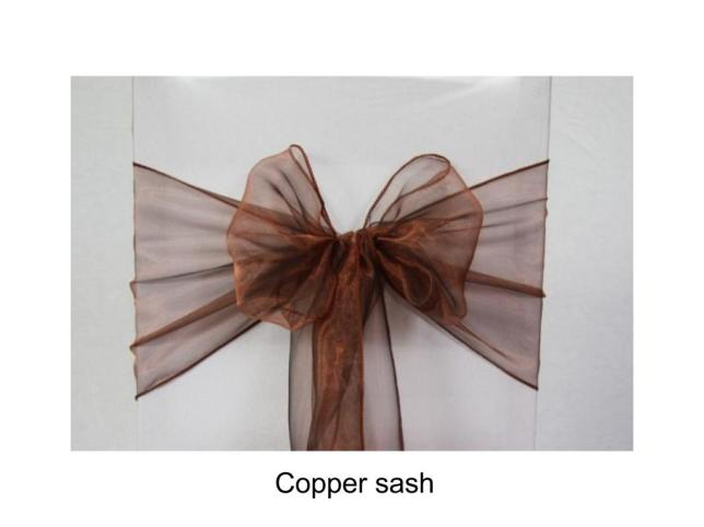 Copper sash