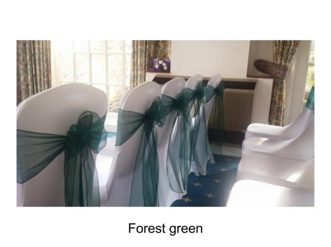 Forest green sash